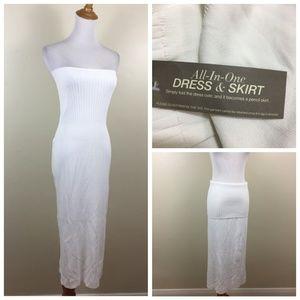 NWT NEW YORK CO EVA MENDES All In One Skirt Dress